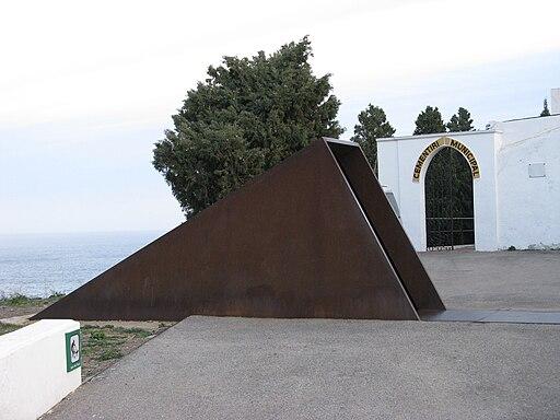 Memorial Walter Benjamin Portbou 001