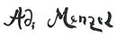 Menzel autograph.png