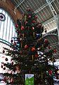 Mercat de Colom de València, arbre de Nadal.JPG