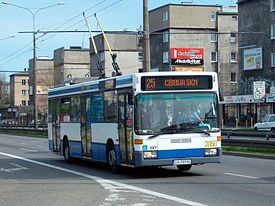 Mercedes-Benz O 405 NE at line number 25 in Gdynia 1.jpg