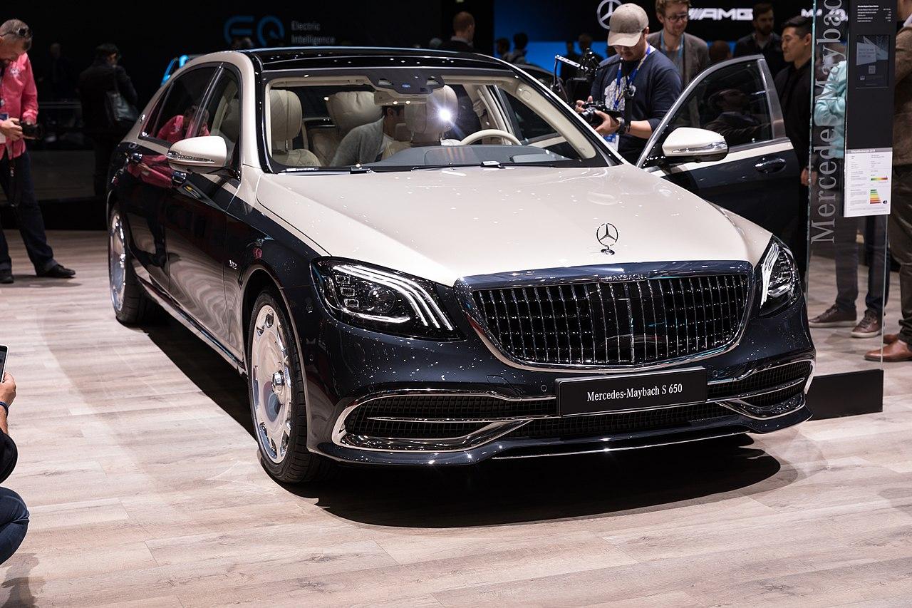 File:Mercedes-Maybach S 650, GIMS 2018, Le Grand-Saconnex ...