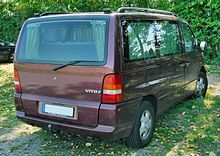 Mercedes V-Klasse 20090815 rear.JPG