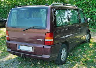 Mercedes-Benz Vito - Mercedes-Benz V-Klasse 1999 (rear)