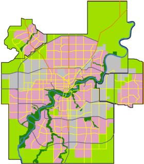 Area in Alberta, Canada