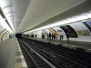 Les Sablons (Paris Métro) - Image: Metro Paris Ligne 1 Les Sablons (5)