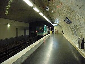 Porte Dauphine (Paris Métro) - Image: Metro Paris Ligne 2 Porte Dauphine