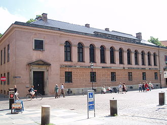 University of Copenhagen - Annex in Fiolstræde.