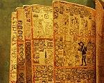 Mexico - Museo de antropologia - Livre maya.JPG