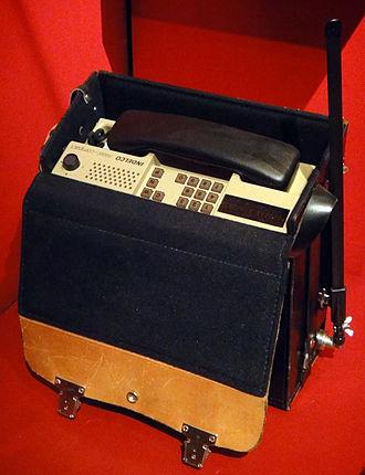 Natel - A Natel B device, released in 1980