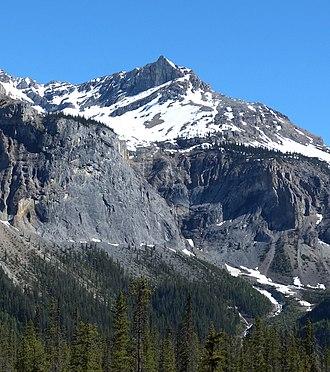 Michael Peak - Michael Peak seen from Emerald Lake