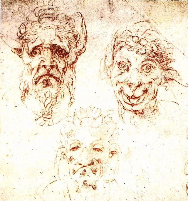 Michelangelo Buonarroti - Studies - WGA15523.jpg