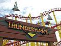 Michigan's Adventure Thunderhawk entrance sign (3651590756).jpg