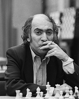 Mikhail Tal Soviet-Latvian chess player