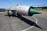 Mikoyan-Gurevich MiG-21 (6) (31081303537).jpg