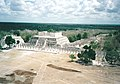 Mil Columnas Chichen - taken from the top of the Pyramid 1969.jpg