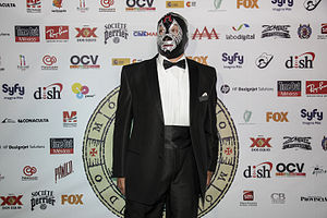 Mil Máscaras - Máscaras at a red carpet event
