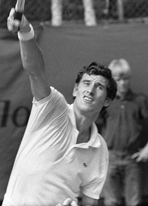 Milan Holeček - Milan Holeček at an international competition in Hilversum, the Netherlands, in 1969
