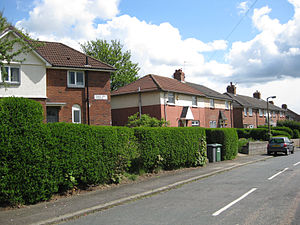 Miles Hill - Miles Hill Avenue - semi-detached houses