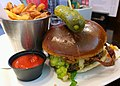 Milestones burger at the airport (19237338574).jpg