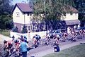 Milk Race, Little Baddow Post Office, Lt Baddow Hill prime Essex 1985 - Flickr - sludgegulper.jpg
