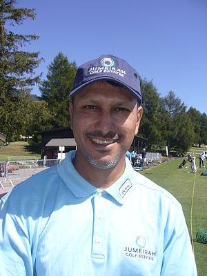 Jeev Milkha Singh - Singh at the 2009 Omega European Masters