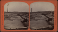 Mill no. 4 and bridge, by Folsom, A. H. (Augustine H.).png