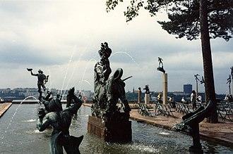 Millesgården - Image: Millesgården 1986