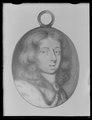 Miniatyrporträtt av konung Karl XI av Sverige (1655-1697), ca 1670 - Livrustkammaren - 53865.tif