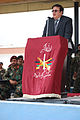 Minister of Defense Rahim Wardak celebrated Eid at Camp Morehead in 2010 -a.jpg