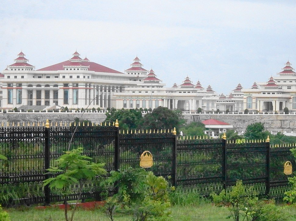 Ministry Zone, Naypyitaw, Myanmar (Burma) - panoramio (1)