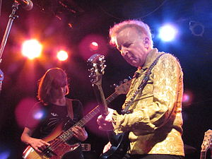 Let's Active - Let's Active performing in 2014 (Suzi Ziegler, bass; Mitch Easter, guitar)
