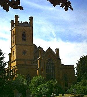 Mitcham, London -  Mitcham Parish Church, Church Road, Mitcham dates in part from the Saxon era.