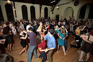 Pigtown, Baltimore - Dancers at Mobtown Ballroom