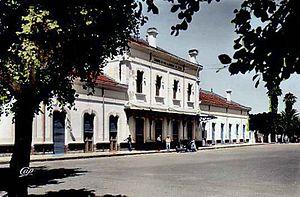 National Company for Rail Transport - Mohammedia's train station (20th century)