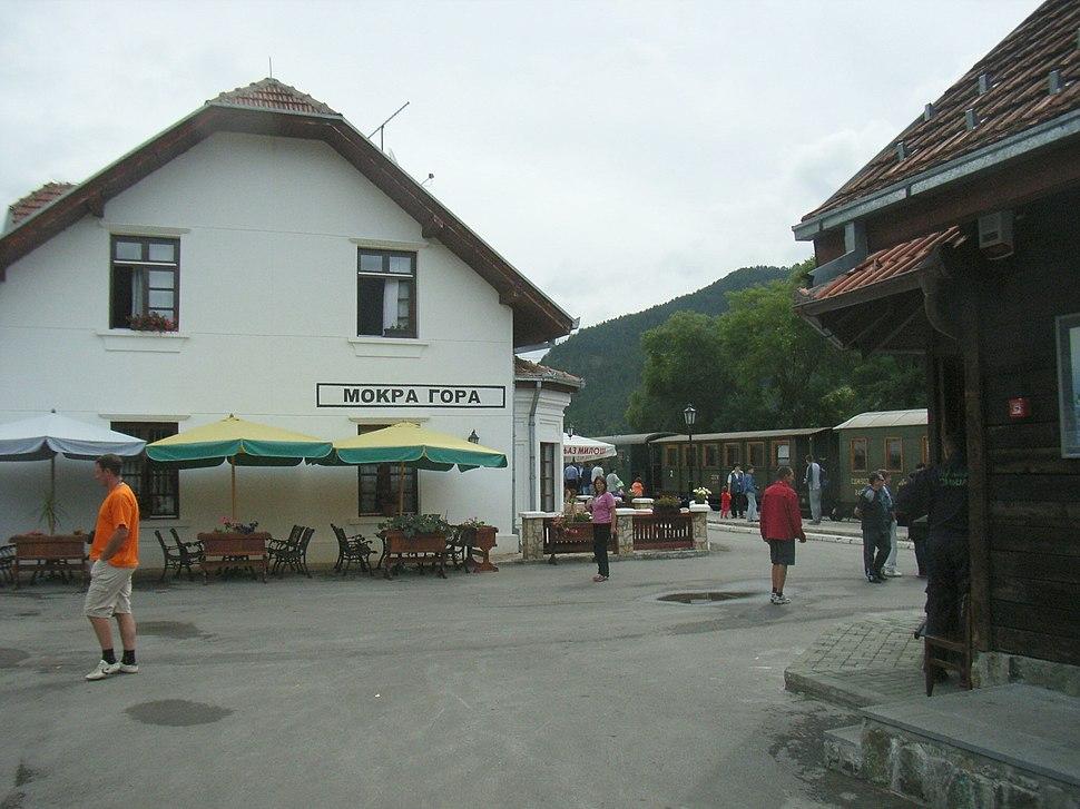 Mokra Gora Station