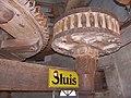 Molen Holten's Molen maalderij, maalkoppel steenspil spoorwiel.jpg