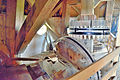 Molen de Olifant, Burdaard, aandrijving uitmaalvijzel (11).jpg