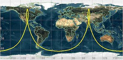 Ground Track Wikipedia - Orbit tracker