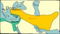 Monde hellénistique en -281 Alexandrie Chalcedoine.png