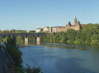 Montauban - Old Bridge and the Ingres Museum