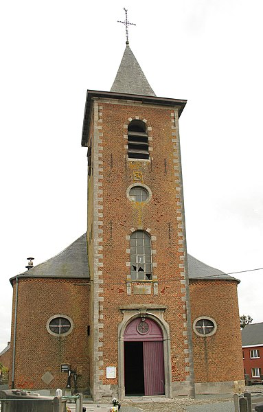 Montignies-lez-Lens   (Belgium), the Saint Martin's church (1791).