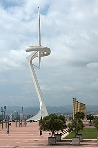 Montjuic communications tower, August 2014 (16).jpg
