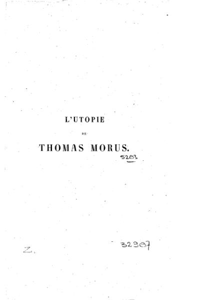 File:More - L'Utopie, trad. Stouvenel, 1842.djvu