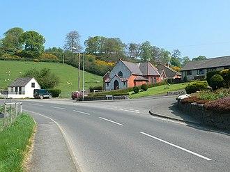 Gwyddelwern - Image: Moriah Chapel, Gwyddelwern geograph.org.uk 791561