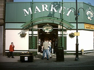 Morley, West Yorkshire - Morley Indoor Market