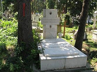 Bellu Cemetery - Gheorghe Gheorghiu-Dej