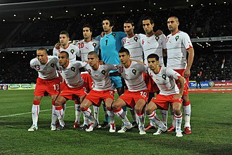 Morocco national football team - Morocco national team in 2012