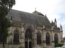 Mortagne-au-Perche - Église Notre-Dame - Façade Nord - 2.JPG