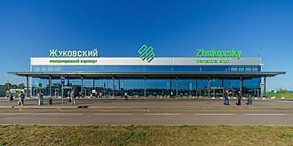 Zhukovsky International Airport - Image: Mos Obl ZIA Airport asv 2018 08 img 2