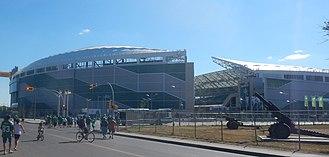 Mosaic Stadium - Stadium's exterior